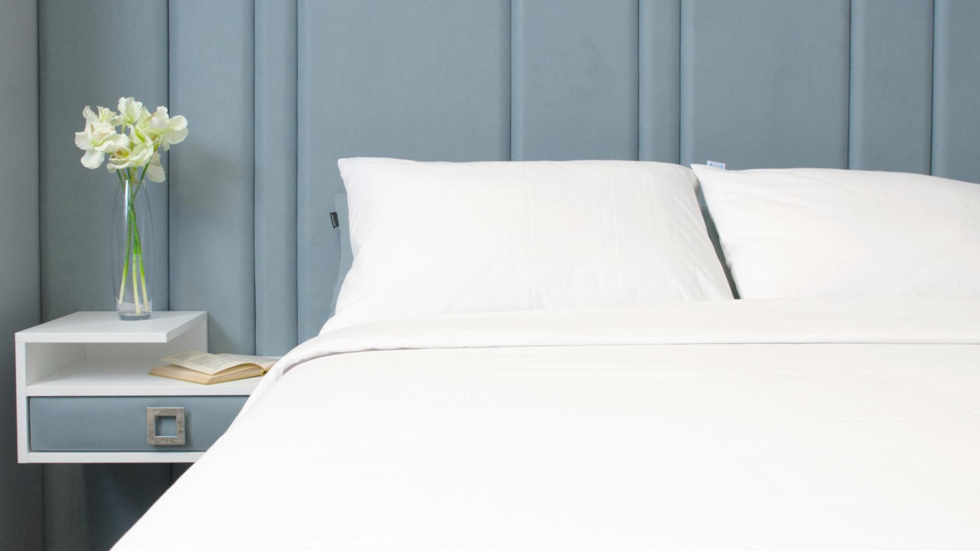 bijela posteljina