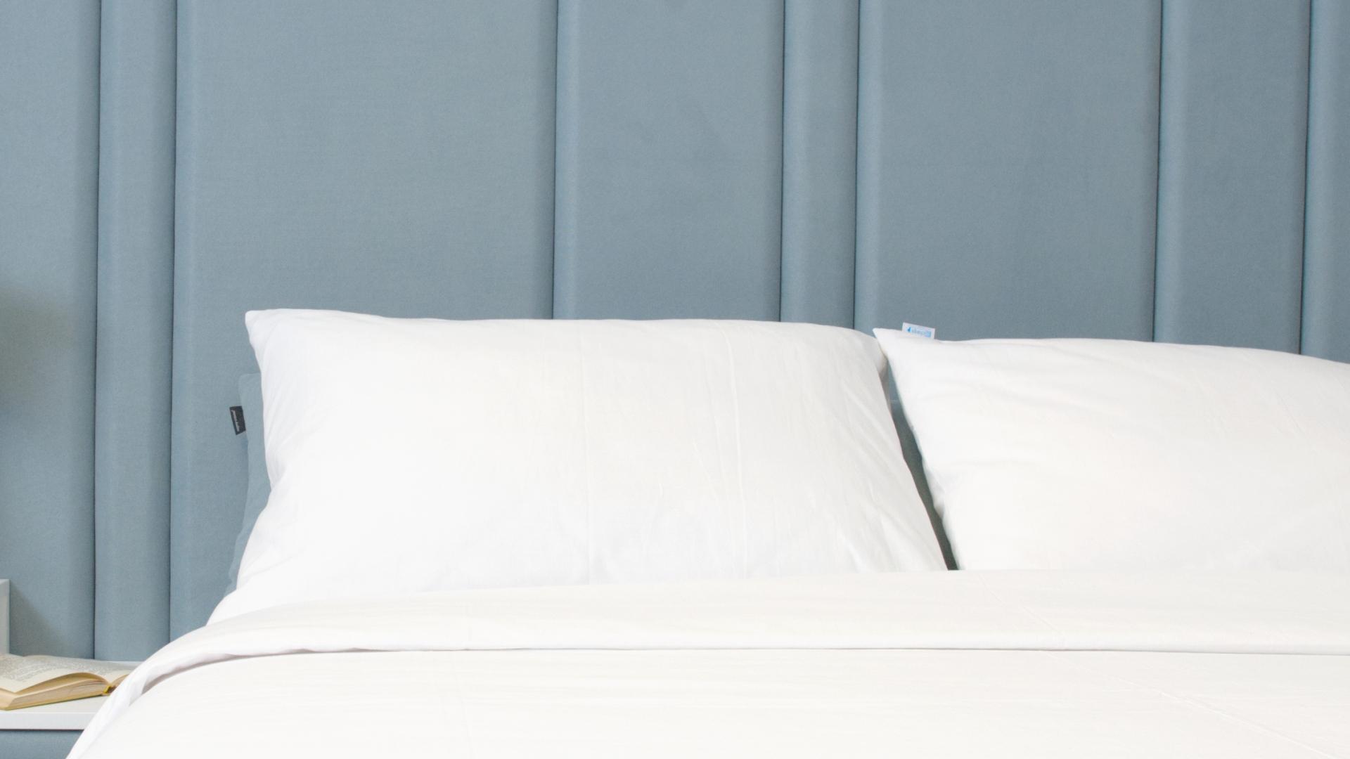 pamučne bijela jastučnice